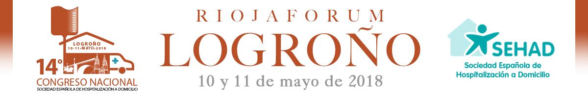 14 CONGRESO SEHAD 2018. Logroño 10 y 11 de Mayo de 2018